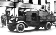 Born out of desperation in these improvized tank hunters were based on the ZIS Trucks at Izhorskiye Zavod, fitted with a 45 mm AT gun. Armored Vehicles, Ww2, Monster Trucks, Cars, Blog, Autos, Car, Blogging, Automobile