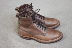 "White's Boots 6"" 'Bounty Hunter' Horween Natural Chromexcel 9.5D Smokejumper #WhitesBoots"