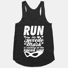 Run Like Tuxedo Mask Is Waiting At The Finish Line | HUMAN