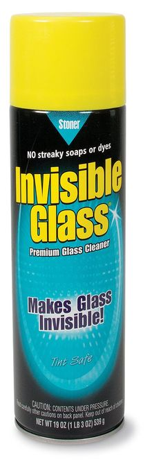 Invisible Glass 91164 - Cleaner for Auto and Home for a Streak-Free Shine, Deep-Cleaning Foaming Action, Safe for Tinted and Non-Tinted Windows, Ammonia Free Foam Glass Cleaner, 19 oz. Deep Cleaning, Cleaning Hacks, Best Glass Cleaner, Invisible Glass, Making Glass, Auto Glass, Window Cleaner, Smudging, Cool Cars
