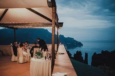 Destination Wedding at Villa Cimbrone in Ravello Amalfi Coast Italy by Oli Sansom and Marry Me Abroad