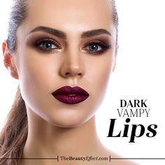 Estas es nuestra lista de lipsticks oscuros pruébenlos >>>>https://goo.gl/oTE6gk