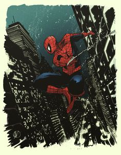 "comic-books: ""My second stab at coloring. Original sketch by Matt Scalera, September, 2012. """