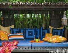 Outdoor Patio Rooms | Decorating Outdoor Spaces | Photos