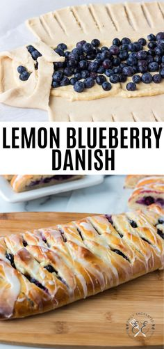 This homemade Lemon Blueberry Danish is the perfect made from scratch breakfast pastry It is fruity and citrusy filled with blueberries and lemon and topped with a lemon icing danish pastry breakfast blueberry lemon sweet # Breakfast Pastries, Sweet Pastries, Breakfast Bake, Danish Pastries, Perfect Breakfast, Puff Pastry Desserts, Puff Pastry Recipes, Blueberry Recipes Puff Pastry, Puff Pastry Danish Recipe