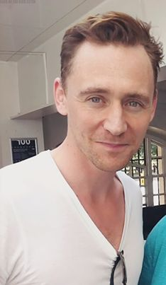 Tom Hiddleston looking lovely as usual