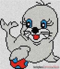сколько я этих птичек навязала в свое время на подарки всем деткам своих подружек, до сих пор на них смотреть не хочется, но может кому-то хочется Xmas Cross Stitch, Cross Stitch Rose, Cross Stitch Animals, Cross Stitch Embroidery, Loom Patterns, Crochet Blanket Patterns, Baby Knitting Patterns, Cat Cross Stitches, Cross Stitch Patterns