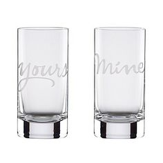 kate spade new york Two Of A Kind Mine & Yours Barware | Bloomingdale's