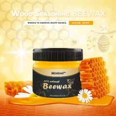 😍 Bring dull furniture back to life with Wood Seasoning Beewax! - ✅ Removes years of wax and dirt buildup to restore the look of your old furniture. Restoring Old Furniture, Furniture Repair, Furniture Makeover, Diy Furniture, Furniture Cleaner, Dining Furniture, Cleaning Wood, House Cleaning Tips, Diy Cleaning Products
