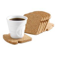 Toast It Coasters - Set of 8