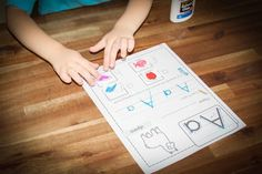 FREE Letter A Beginning Sounds cut and paste worksheet