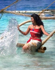 This Moana cosplay is EVERYTHING ❤️❤️❤️