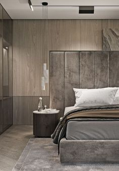 Modern Bedroom Ideas - All the bedroom design ideas you'll ever before require. Locate your style as well as produce your dream bedroom plan whatever your budget, style or room size. Bedroom Lamps Design, Rustic Master Bedroom Design, Master Bedroom Interior, Design Living Room, Home Decor Bedroom, Bedroom Ideas, Bedroom Designs, Bedroom Furniture, Diy Bedroom