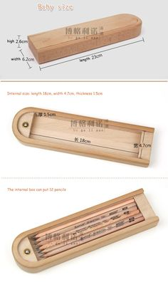 Fancy Woodwork That Sell woodworking - Wood Project Wooden Pencil Box, Pencil Boxes, Pencil Holder, Stationary Gifts, Cute Stationary, Cnc Projects, Woodworking Projects, Pen Case, Fine Woodworking