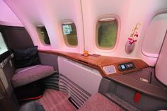 First Class Cathay Pacific HKG-BKK