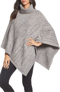 Free shipping and returns on Barefoot Dreams® Cozychic® Point Dume Poncho  at Nordstrom. f0b2b2263