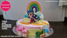 true and the rainbow kingdom birthday cake design ideas decorating tutor...