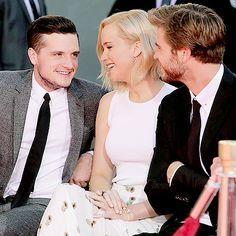 Josh Hutcherson Jennifer Lawrence Joshifer The Hunger Games: Mockingjay Part 2 Ceremony at TCL Chinese Theatre on October 31, 2015