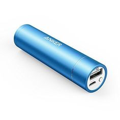 Anker PowerCore+ mini 3350mAh Lipstick-Sized Portable Charger (3rd Generation, Premium Aluminum Power Bank) One of the Most Compact External Batteries, Uses High-Quality Panasonic Cells - Brought to you by Avarsha.com