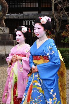 Maiko- I've always been fascinated by the idea of Geisha.  I also love the intricacy of kimono design.