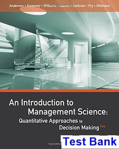 Earth an introduction to physical geology 11th edition authors test bank for introduction to management science quantitative approaches to decision making 14th edition by anderson fandeluxe Image collections