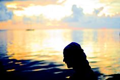 A serene calm in Tahiti