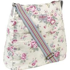 Trailing Floral Washed Messenger Bag