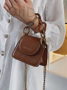 You searched for akolzol.com Leather Crossbody Bag, Pu Leather, Fashion Tag, Types Of Bag, Cross Body Handbags, Messenger Bag, Chain, Mini, Over The Shoulder Bags
