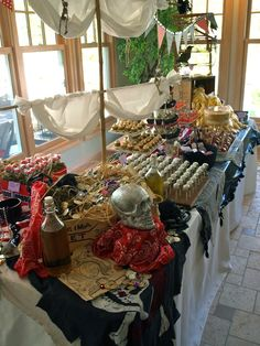 Pirate party food table