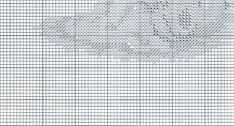 Schema punto croce Bagnetto 9