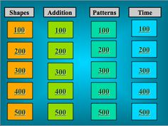 Classroom Freebies Too: Jeopardy Fun! {Math Review}