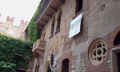 A janela da Julieta, Verona, Italia.