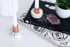 Marble candlestick lifestyle