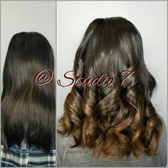Hair creations, colored hair,  awesome hair, studio 7, chocolate balayage,  balayage, gorgeous, gorgeous color
