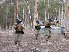 Stay low and shoot straight! #paintball