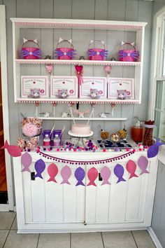 It's a ways away...but for baby girls third birthday I want to have a cat themed party and give her a kitten :)