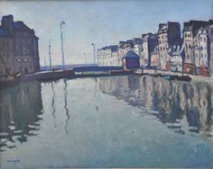 Albert Marquet (French, 1875-1947), Bassin du Roy au Havre, 1906. Oil on canvas…
