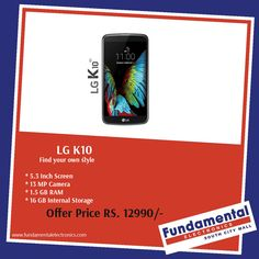 The Brand New LG K10: Find your own style....