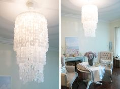 20 DIY Chandeliers to Brighten Up Your Space via Brit + Co.