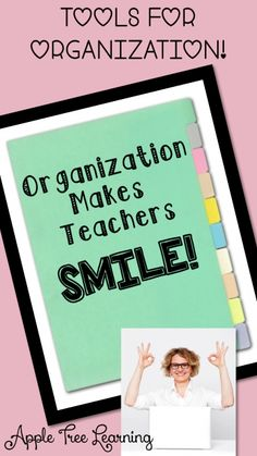 Teacher Organization & Checklist Tools for Planning & Organizing