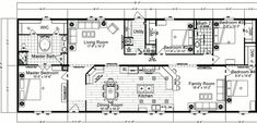 4-Bedroom Mobile Home Plans | Bedroom Double Wide Mobile Home Floor Plans Doublewide 4 bed 2 bath ...