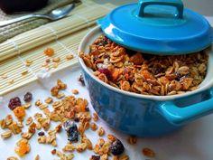 Křupavá granola Granola, Cereal, Soup, Breakfast, Sweet, Kids, Children, Muesli, Soup Appetizers