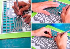 Papel picado published on Etsy by artist Yreina on her website