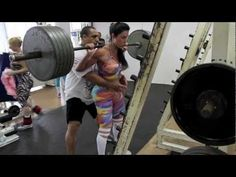 Gracyanne Barbosa She's fine yes, but she puts in some serious work in the gym to get that tight body. WOW!! There's no way I could squat any where near that much weight and do her routine. Keep it real!!!!!