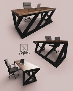 Unique Furniture So Cool Chairs - - Modern Steel Furniture Vintage Industrial Loft Furniture, Steel Furniture, Unique Furniture, Industrial Furniture, Furniture Design, Furniture Vintage, Vintage Industrial, Painted Furniture, Furniture Ideas