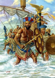 The Sea Peoples - A Modern Reconstruction - The Bronze Age Ancient Greece, Ancient Egypt, Ancient History, European History, Ancient Artifacts, Ancient Aliens, American History, Sea Peoples, Ancient Near East