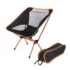 Ultralight Folding Camping Chair Beach Chairs Backpack Stool Compact Lightweight Bag For Fishing Travel Hiking Beach