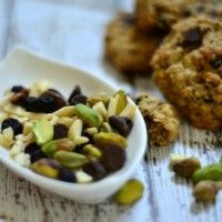 THESE ARE AMAZING Trail Mix Cookies {gluten free + dairy free}