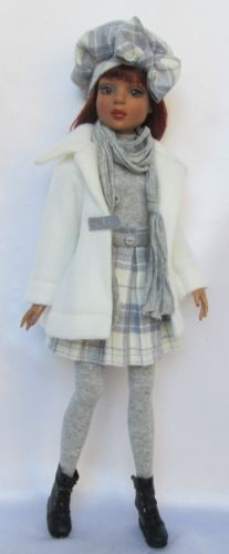 """LIZETTE'S """"GRAY FALL DAY!"""" for Ellowyne Wilde, Etc, by ssdesigns via eBay, SOLD 11/01/14 $75.99"""