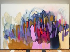 Claire Desjardins #Colorful #abstract #art